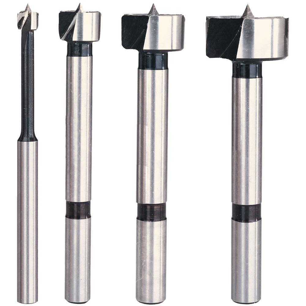 Forstner Steel Bit Set (4-Piece)
