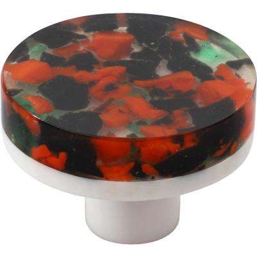 Waterbury 1-1/2 in. Multi-Color Round Cabinet Knob