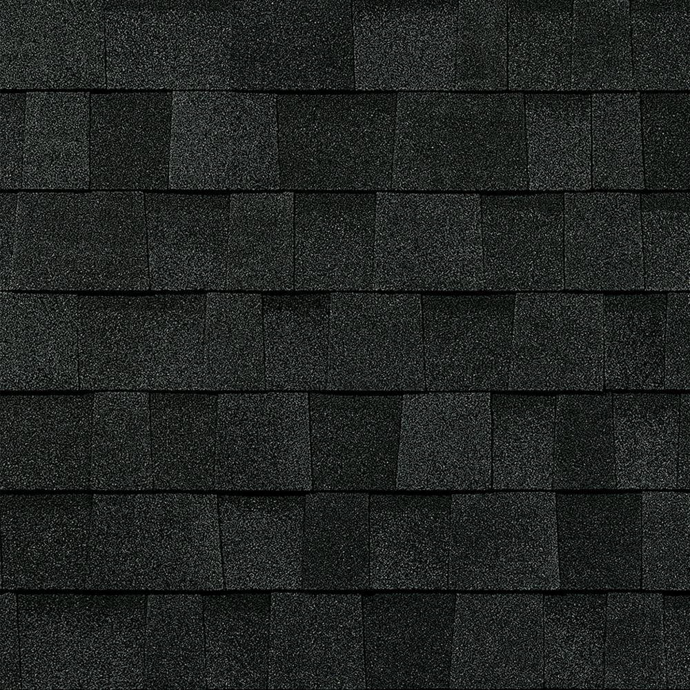 Owens Corning TruDefinition Duration Algae Resistant Onyx Black Laminate Architectural Shingles (32.8 sq. ft. per Bundle)