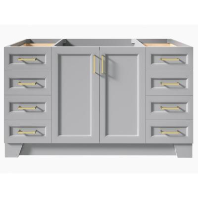 Taylor 60 in. W Vanity Cabinet Only in Grey