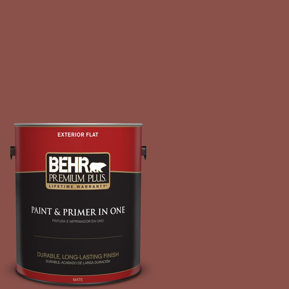 1-gal. #S150-6 Spiced Berry Flat Exterior Paint