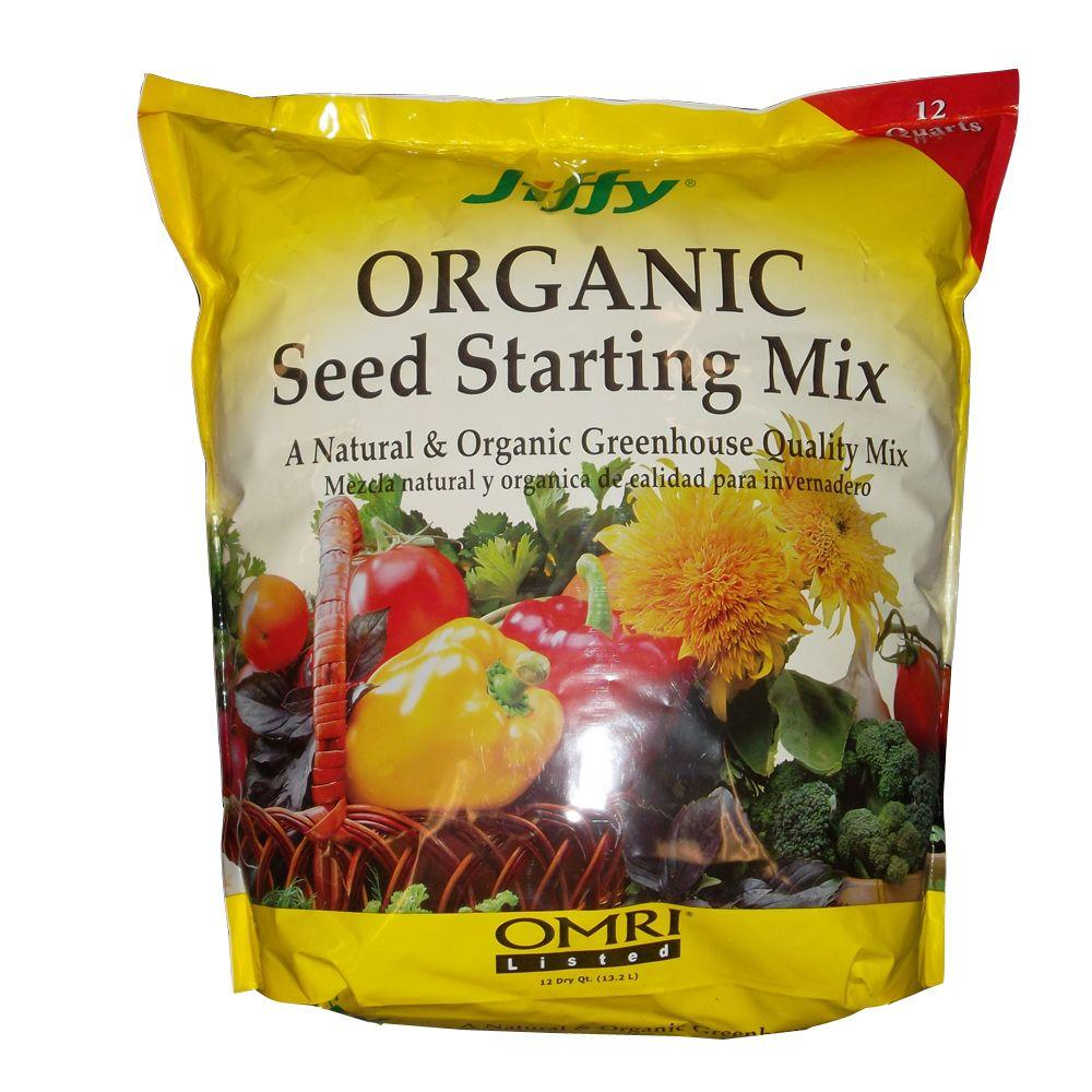 Jiffy 12 Qt. Organic Seed Starting Mix
