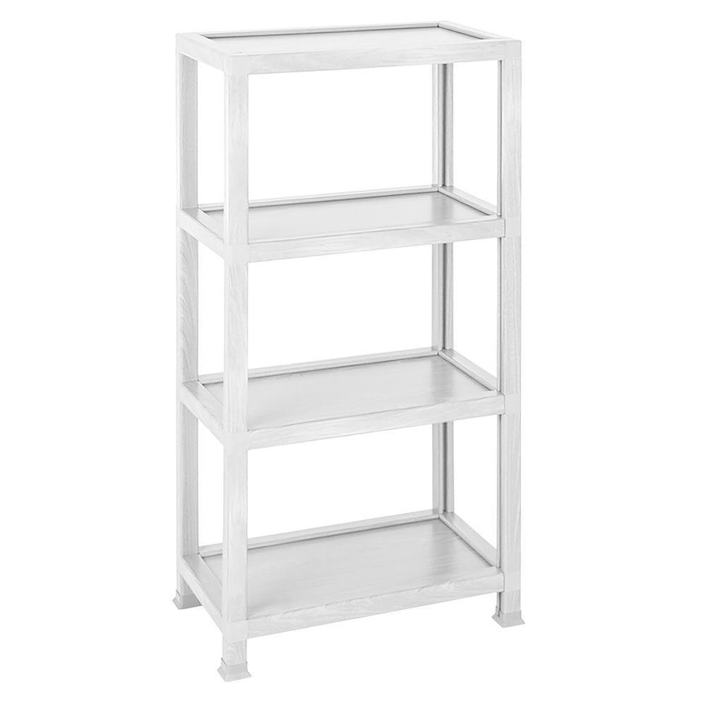 Way Basics zTube Westminster White Open Bookcase