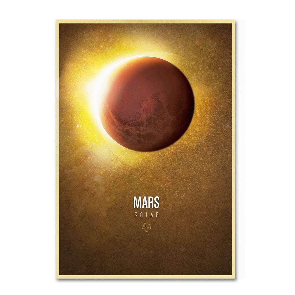 16 in. x 24 in. Mars Canvas Art