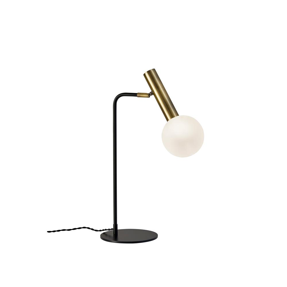 23 in. Black Sinclair LED Desk Lamp