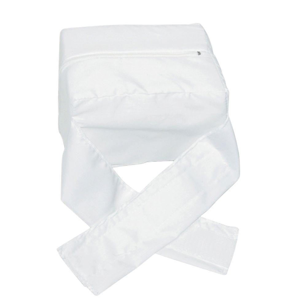 Knee-Ease Pillow in White