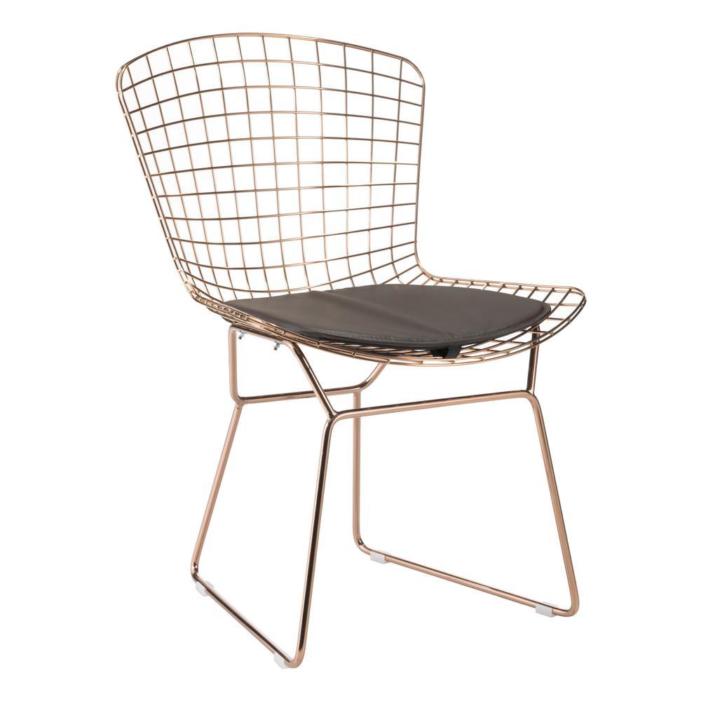 Zuo Espresso Mesh Wire Outdoor Chair Cushion