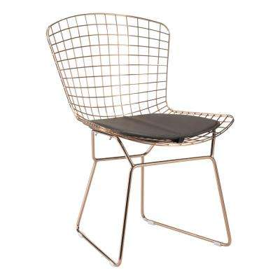 Espresso Mesh Wire Outdoor Chair Cushion