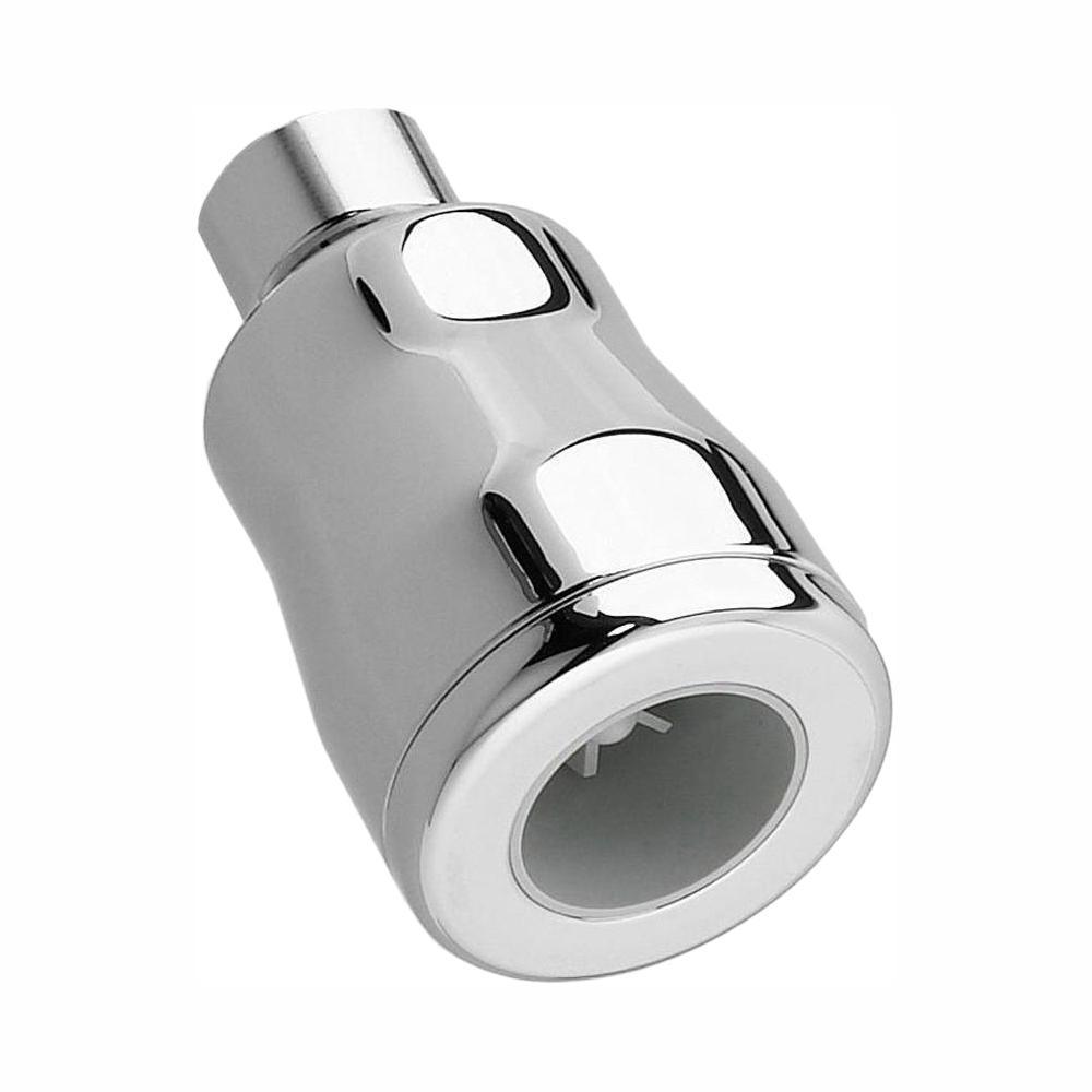 FloWise Vandal-Resistant Water-Saving 1-Spray 1.875 in. Showerhead in Polished Chrome