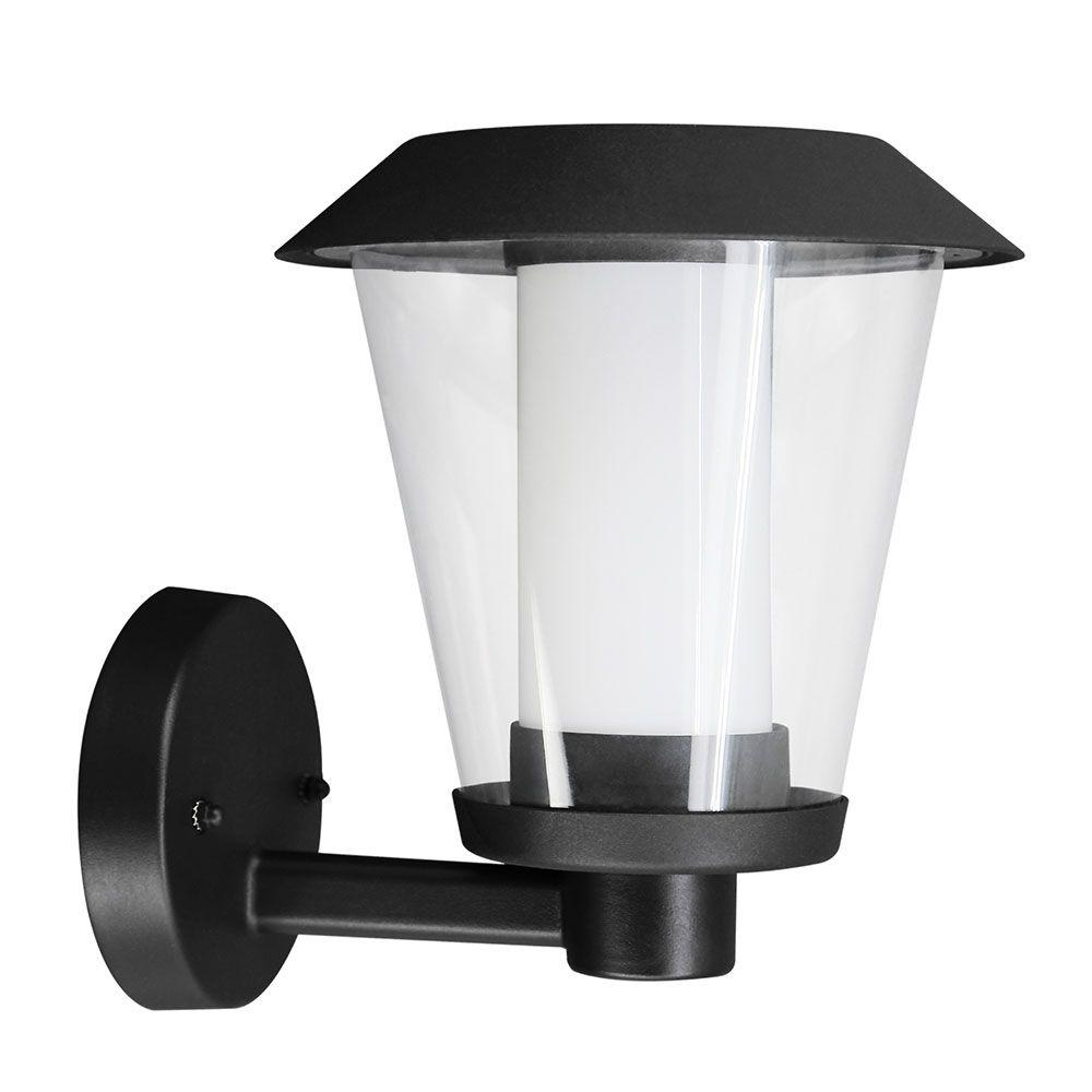 Eglo Blyth Black Outdoor Integrated LED Wall Light