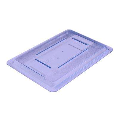 Lid Only for 12x18 in. Polycarbonate Color-Coded Food Storage Box in Blue (Case of 6)