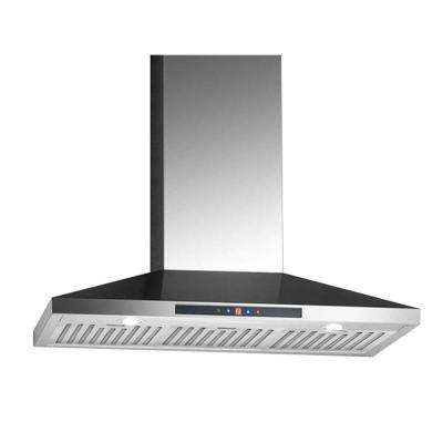 WPC436 36 in. Wall-Mounted Convertible Range Hood in Stainless Steel
