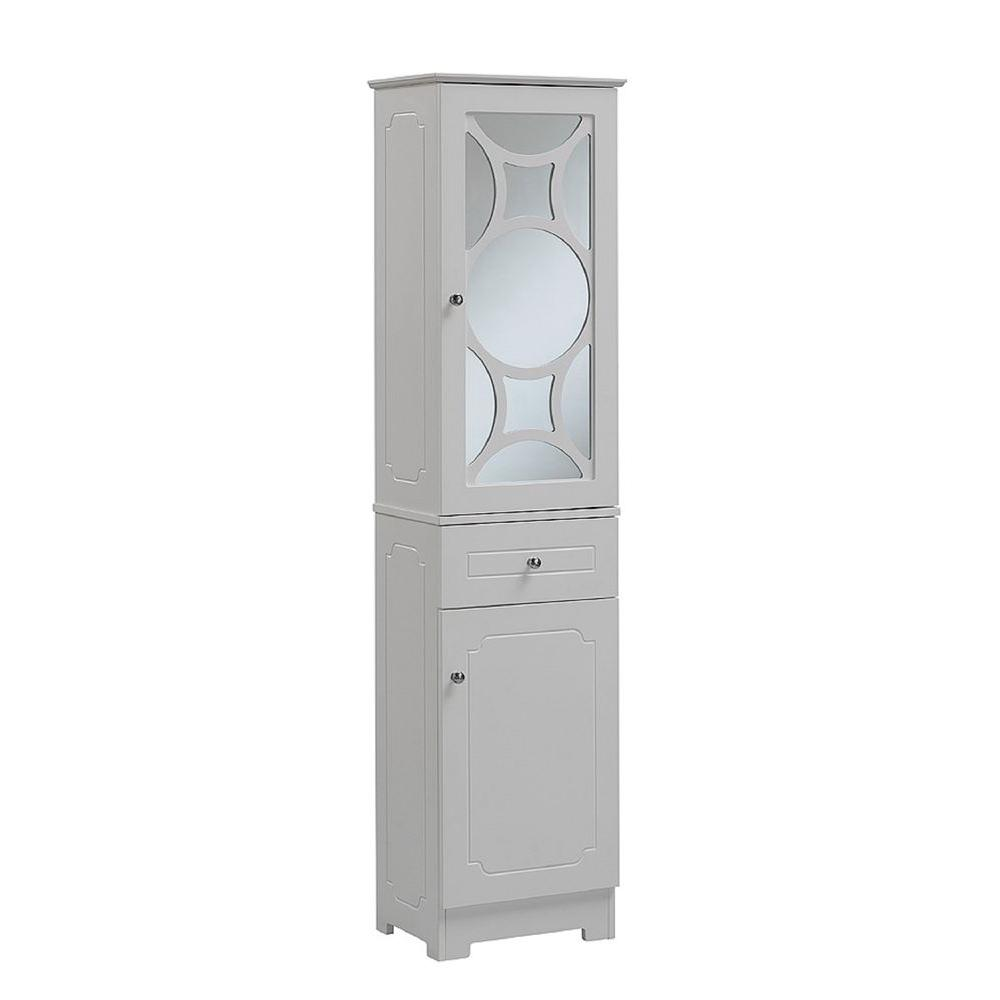 bathroom linen cabinets white home fashions venice 34 in h x 27 in w x 13 3 4 16171