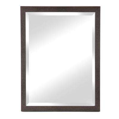 Harbour Collection Grey Wall Mirror