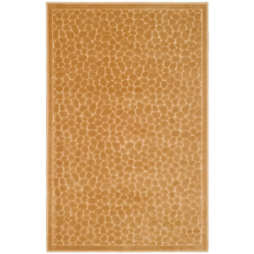 Martha Stewart Living Reptilian Taupe 2 ft. 7 in. x 4 ft. Area Rug