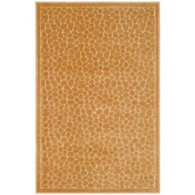 Reptilian Taupe 2 ft. 7 in. x 4 ft. Area Rug