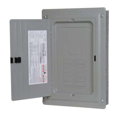 ES Series 200 Amp 12-Space 24-Circuit Main Lug Outdoor 3-Phase Load Center