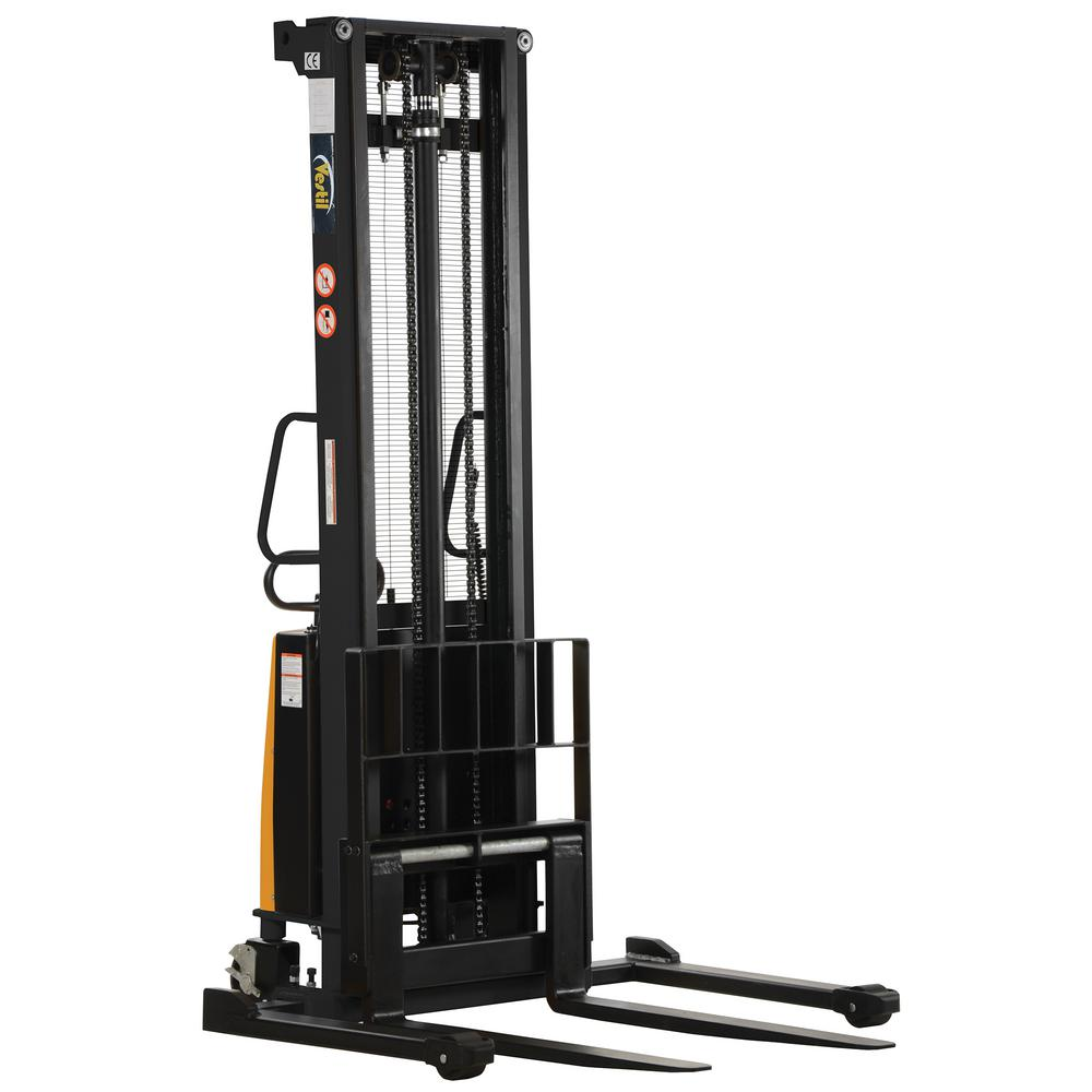 Vestil Hydraulic Lift Parts : Vestil lb capacity in high stacker with powered