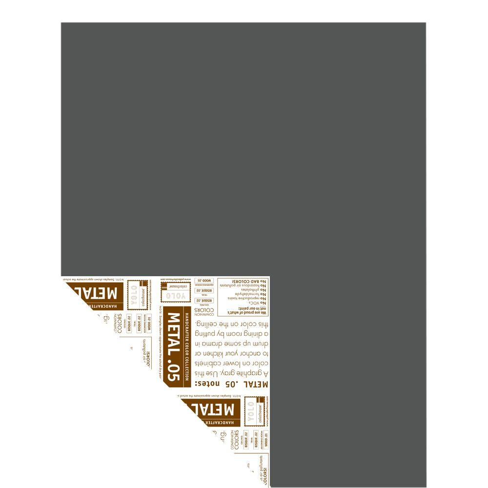 YOLO Colorhouse 12 in. x 16 in. Metal .05 Pre-Painted Big Chip Sample