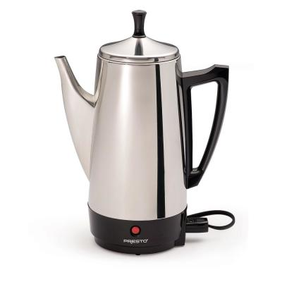 12-Cup Stainless Steel Percolator