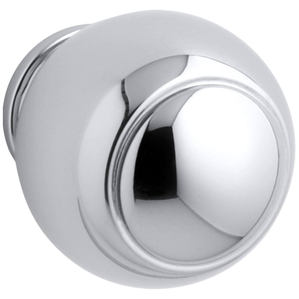 Lyntier 2-1/2 in. Polished Chrome Round Cabinet Knob