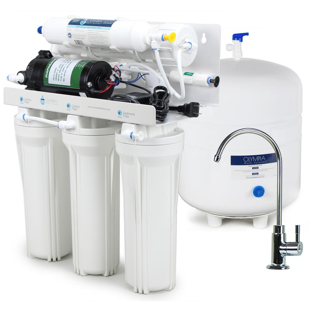Olympia Water Systems Booster Pump Under Sink Reverse