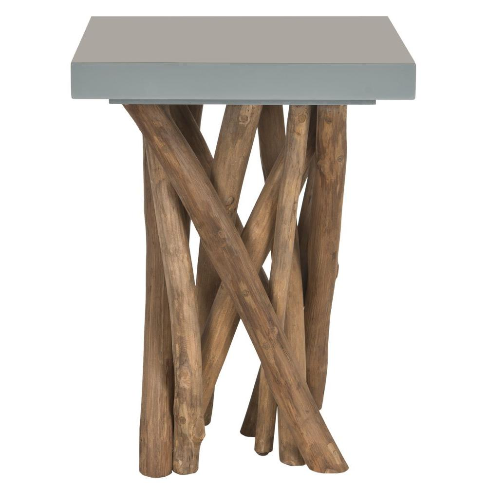 Safavieh Hartwick Grey Side Table