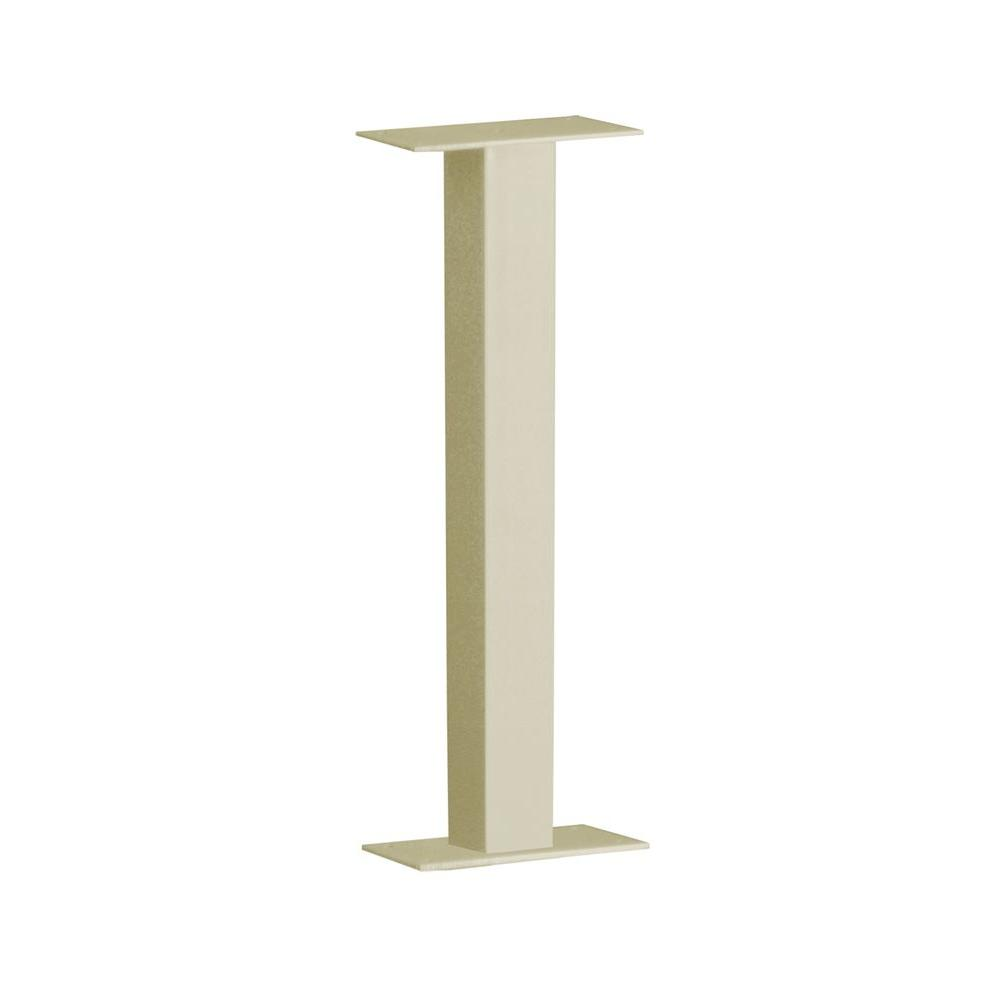 Architectural Mailboxes 38 in. Steel 1-Mailbox Post in Sand