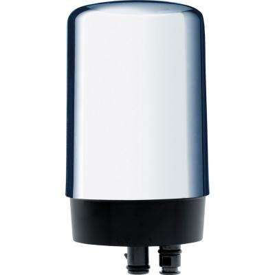 Chrome Faucet Replacement Water Filter Cartridge