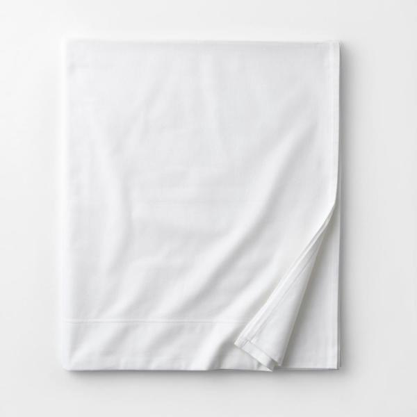 The Company Store Legacy Velvet Flannel White Solid Extra Deep California King Flat Sheet Ea75 Ck White The Home Depot
