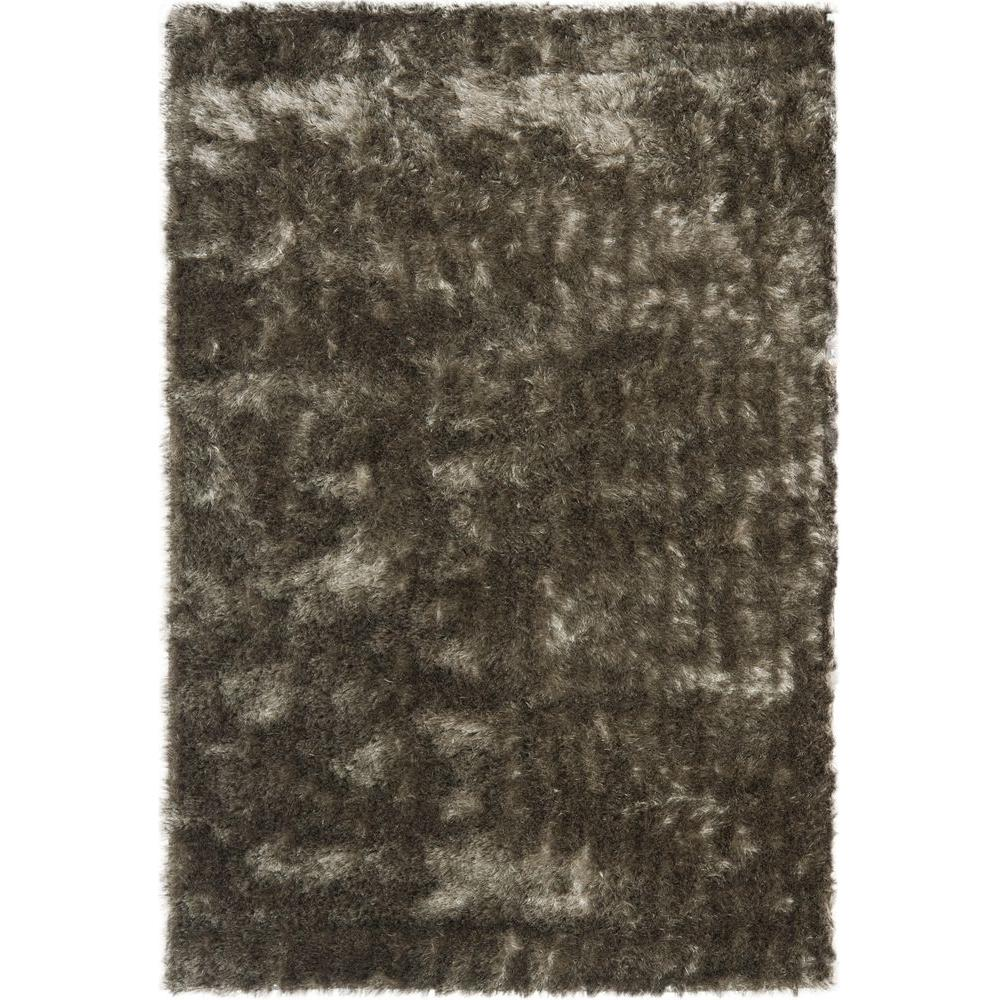 Paris Shag Silver 6 ft. x 9 ft. Area Rug