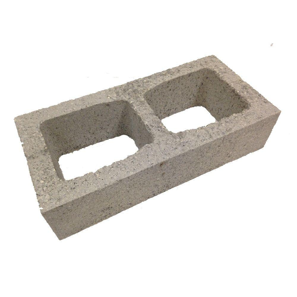 4 In. X 8 In. X 16 In. Concrete Half-High Block-100092