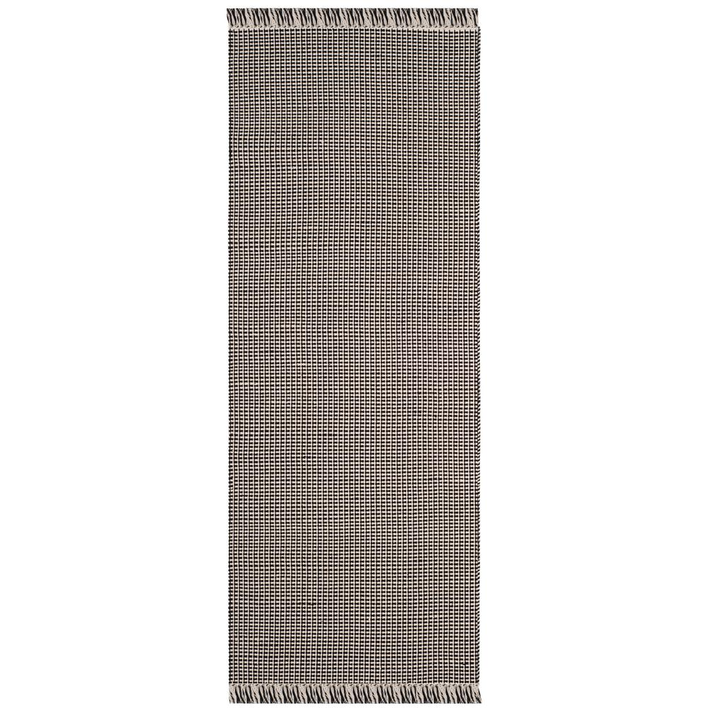 Montauk Ivory/Black 2 ft. 3 in. x 8 ft. Runner