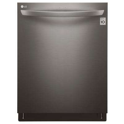 Top Control Tall Tub Smart Dishwasher with WiFi Enabled in Black Stainless Steel with Stainless Steel Tub