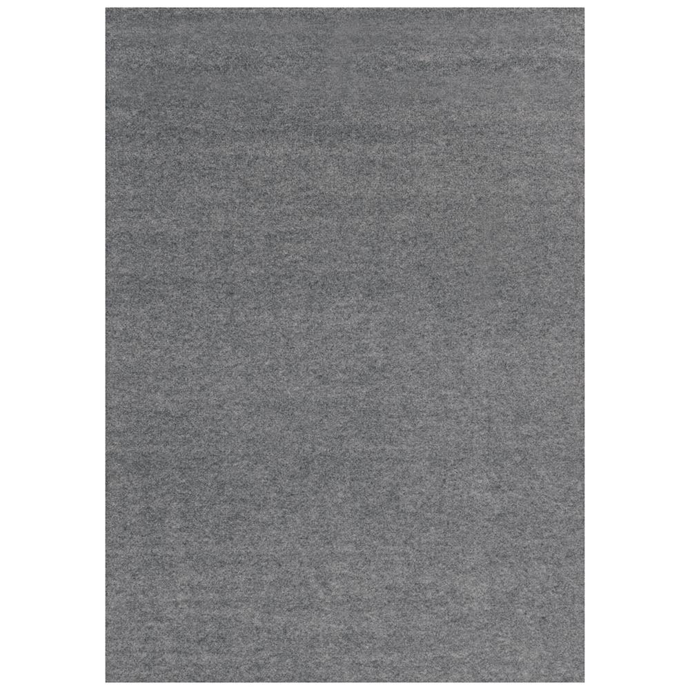 Foss Unbound Smoke Gray Ribbed 6 ft. x 8 ft. Indoor/Outdoor Area Rug