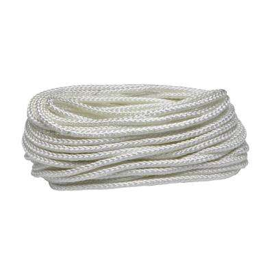 5/16 in. x 50 ft. White Diamond Braid Nylon Rope