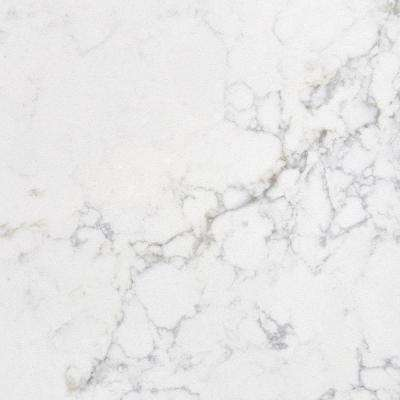 3 in. x 3 in. Quartz Countertop in Muse