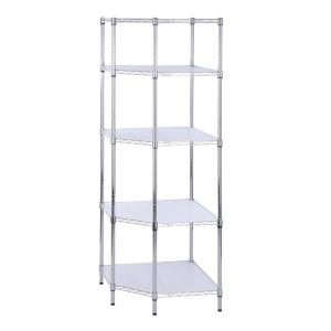 5tier corner shelf - Gladiator Shelving