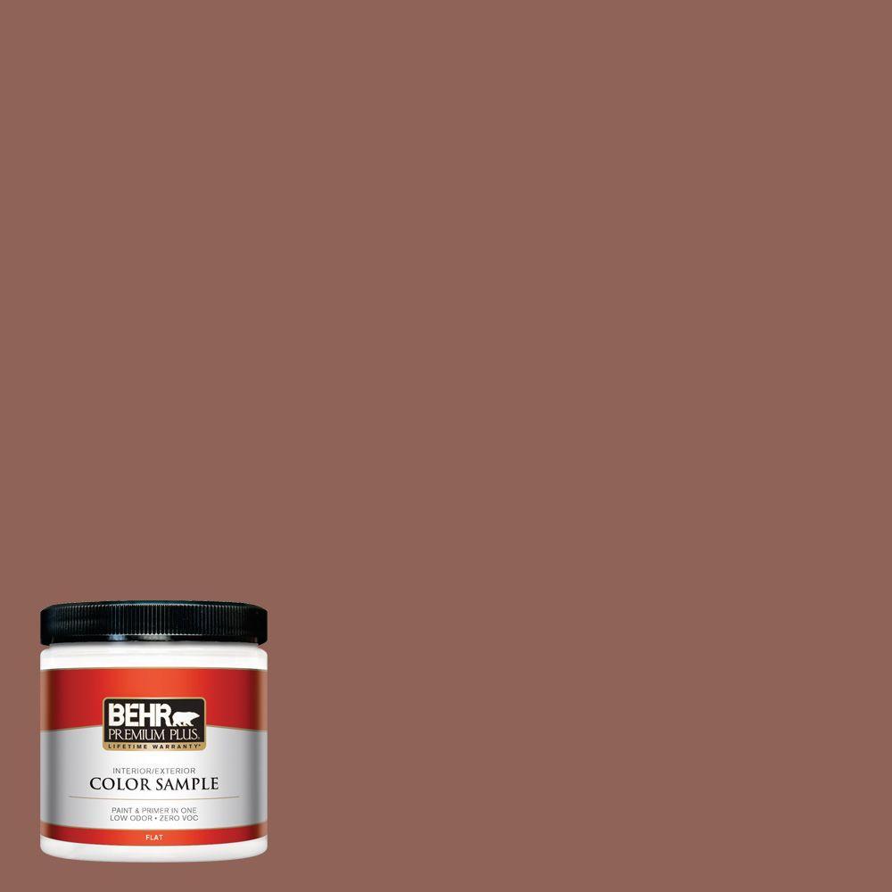 8 oz. #BXC-57 Raw Sienna Interior/Exterior Paint Sample