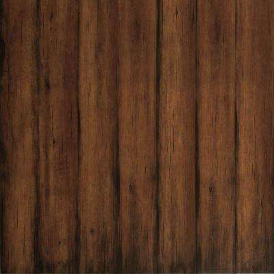 Blackened Maple Laminate Flooring - 5 in. x 7 in. Take Home Sample