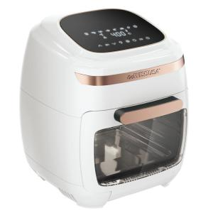 Deals on GoWISE USA 1700-W White/Rose Gold Multi-Vibe Air Fryer Oven