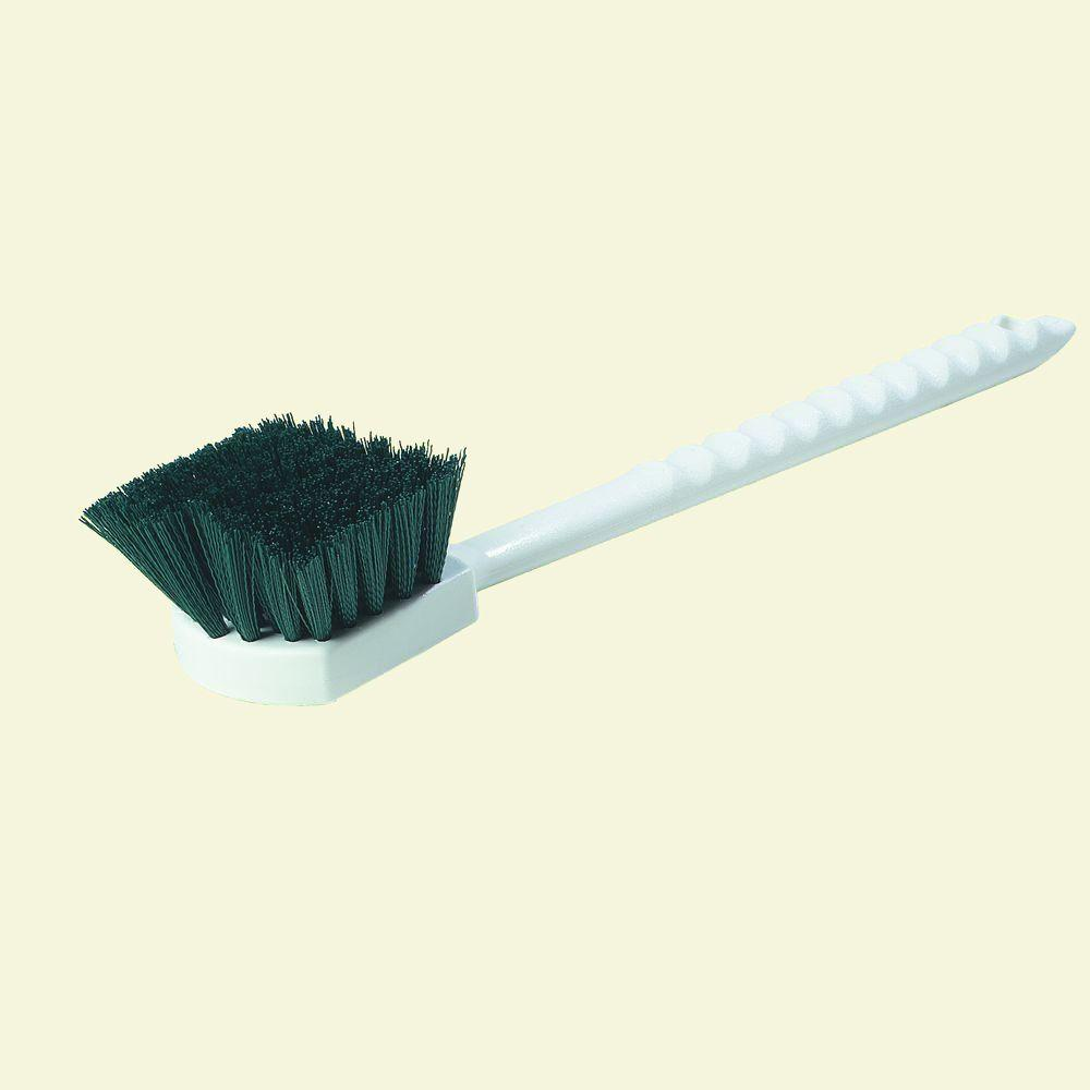 Carlisle 20 in. Polyester Green Floating Utility Scrub Brush (Case of 12)