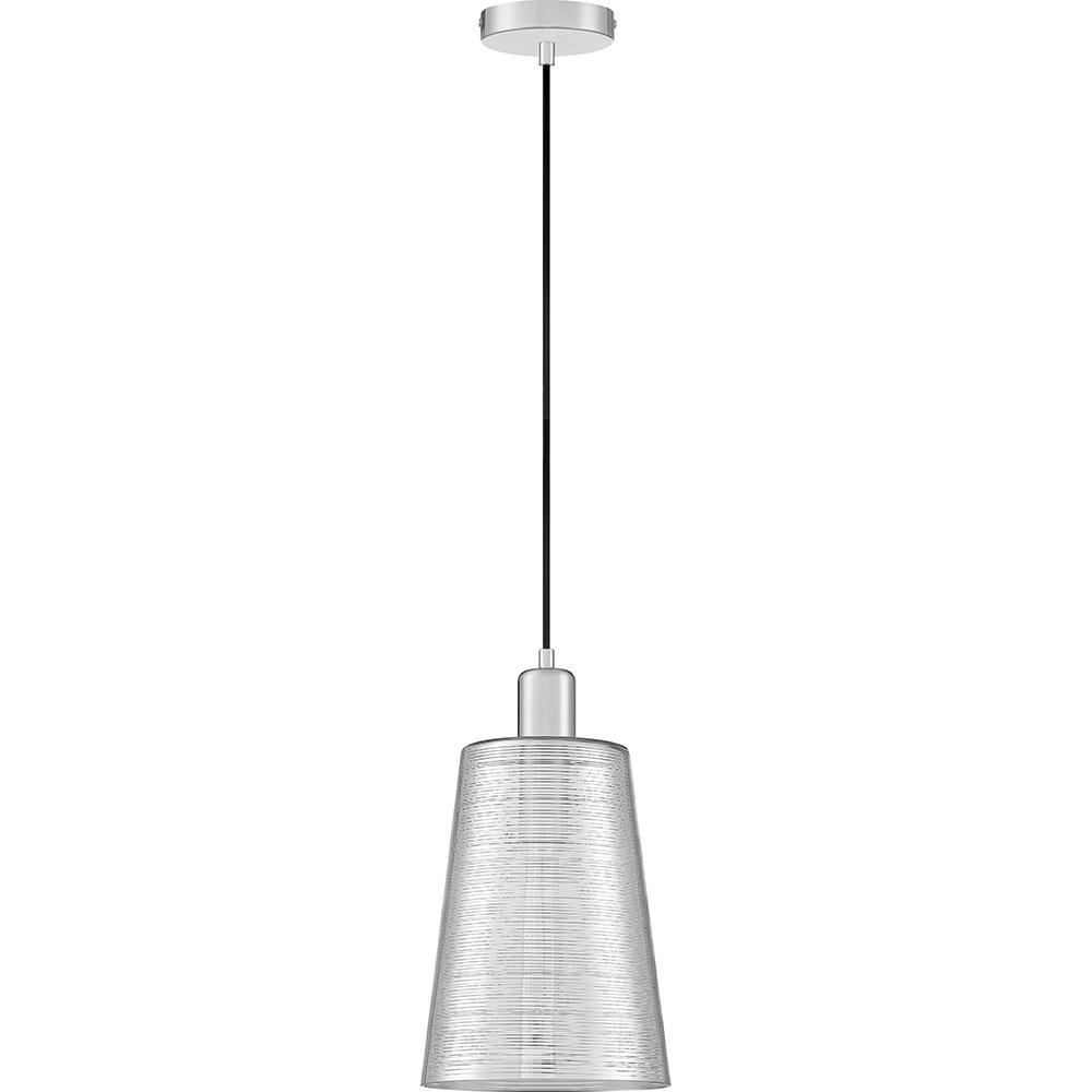 Nia 1-Light Polished Chrome Mini Pendant
