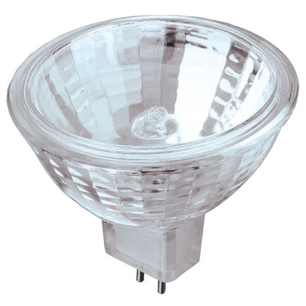 20-Watt Halogen MR16 Clear Lens Low Voltage GU5.3 Base Xenon Flood