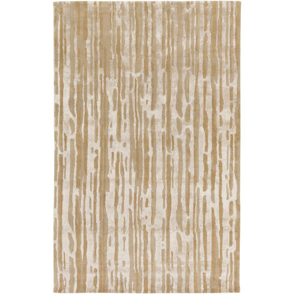 Moreni Taupe (Brown) 2 ft. x 3 ft. Indoor Area Rug