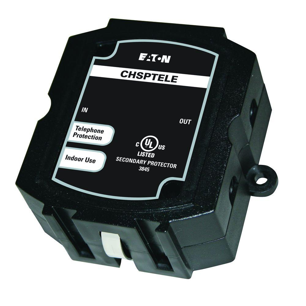 Eaton Surge Protection Protects 3 Telephone Lines