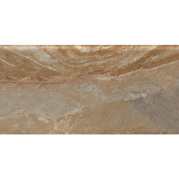 Formations Terra Maia S4489 4-1/4 in. x 8-1/2 in. Ceramic Bullnose Wall Tile (5.21 sq. ft. / Case)