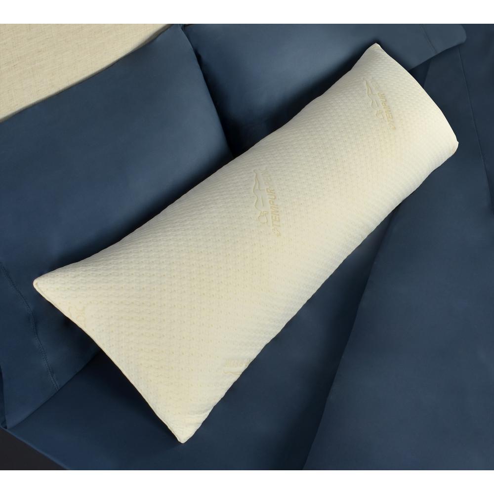 Tempur Pedic Foam Body Pillow, White