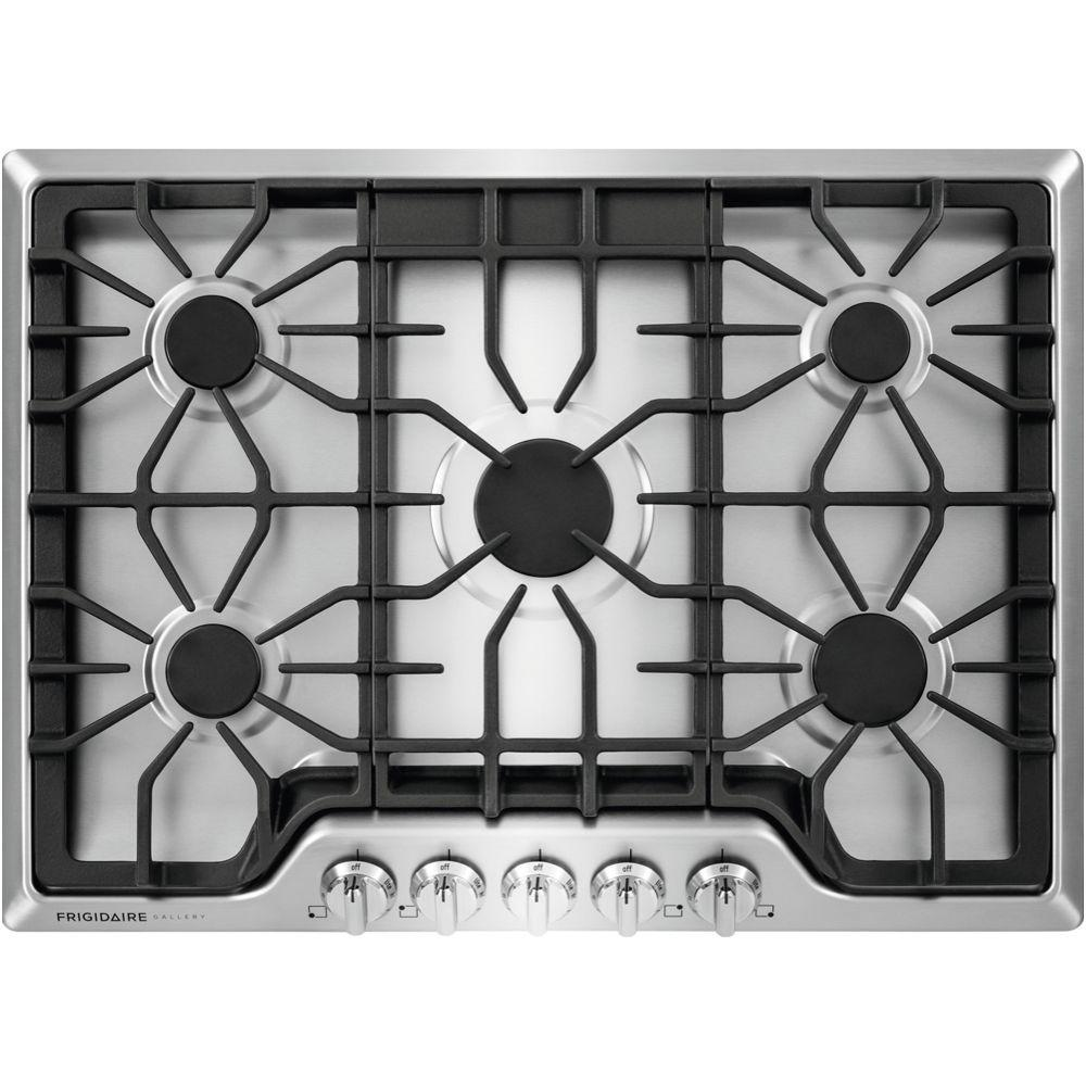 Nice Gas Cooktop In Stainless Steel With 5 Burners