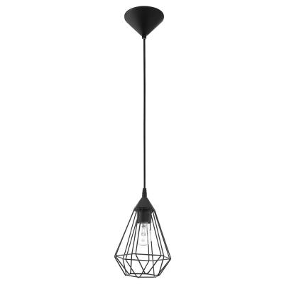 Lindell 1-Light Matte Black Pendant